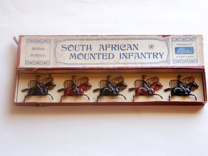 Britains Set # 38 South African Mounted Infantry
