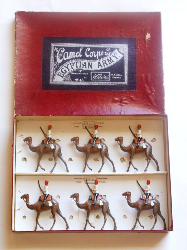 Britains Set # 48 Egyptian Camel Corps Pre War