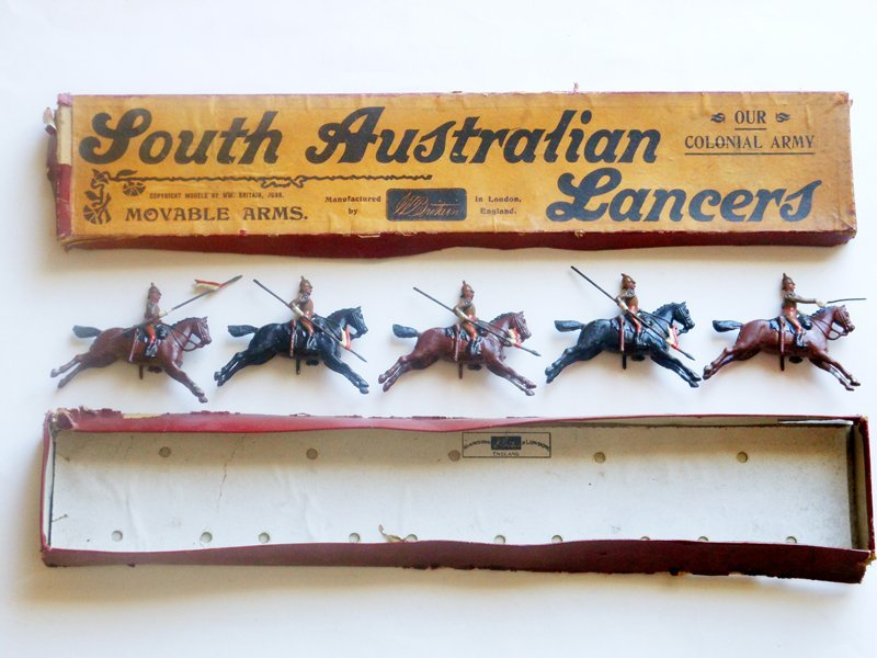 Britains Set # 49 South Australian Lancers Pre War