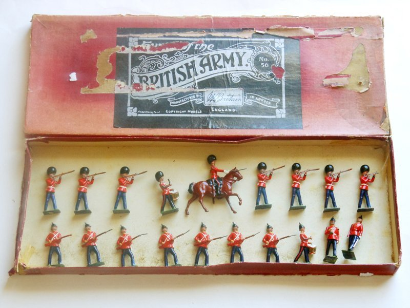 Britains Set # 56 East Kent Regiment