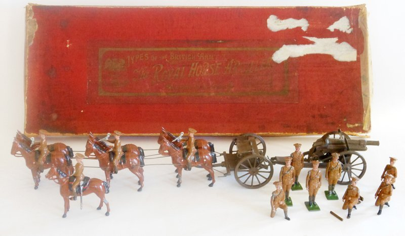Britains VERY RARE Set # 318 Royal Artillery
