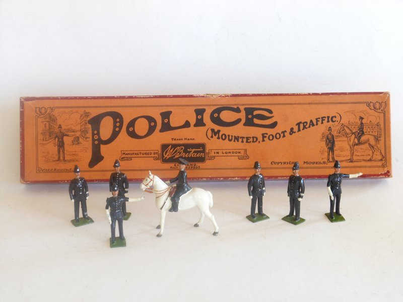 Britains Set # 319 Police Mounted and Foot