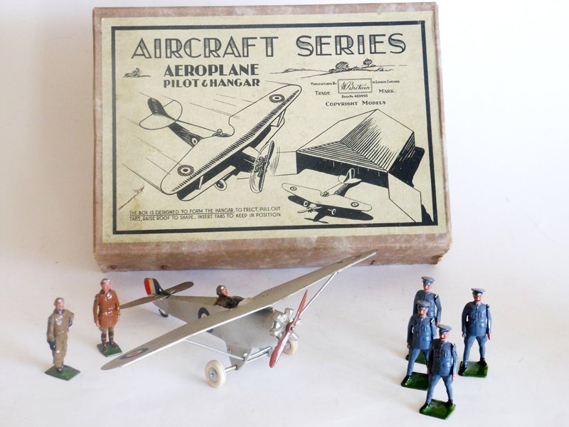 Britains Set # 434 Royal Air Force Monoplane,