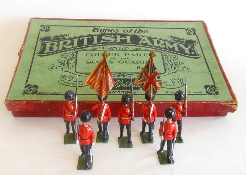 Britains Set # 460 Scots Guards Colour Party