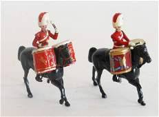Britains From Set 1720 Royal Scots Greys Kettle