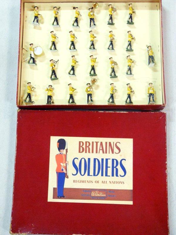 Britains Set # 2110 SCARCE U. S, Army Band
