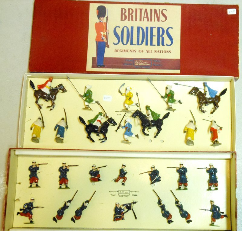 Britains Set # 2097 SCARCE French Foreign Legion