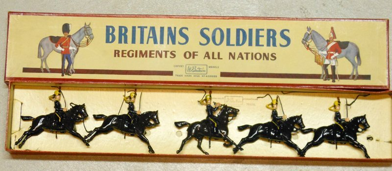 Britains Set # 8. 4th Queens Own Hussars