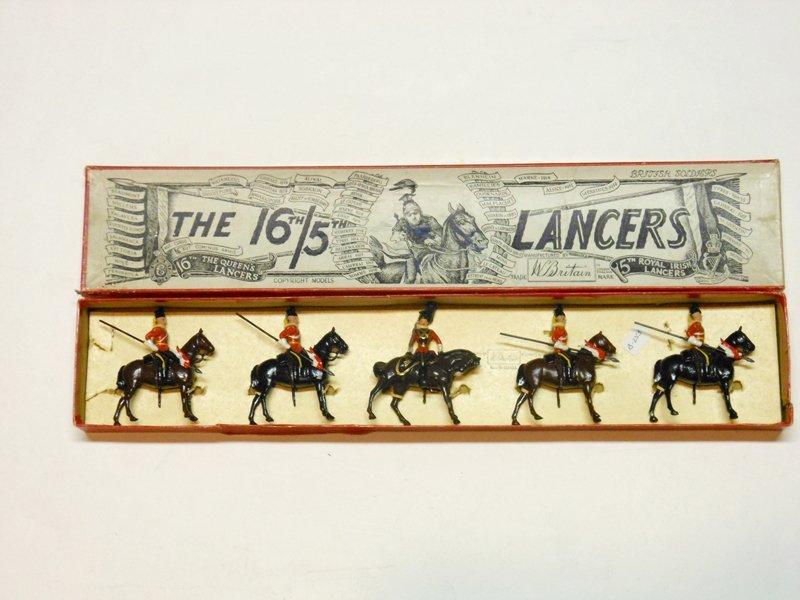 Britains Set # 33. 16th/5th Lancers