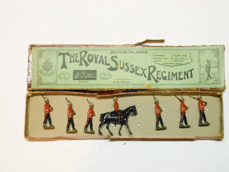 Britains Set # 36 Royal Sussex Regiment