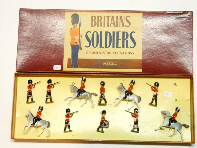 Britains Set # 41 British Army Display
