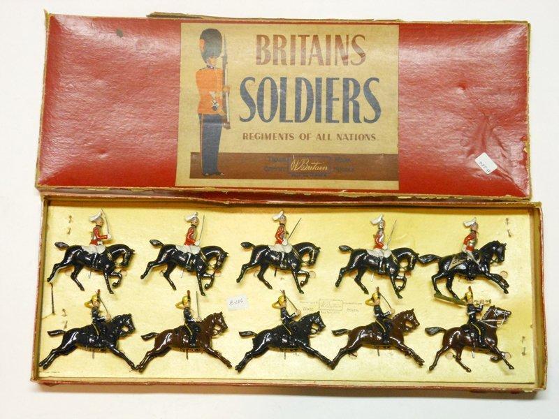 Britains Set # 50 British Army Display