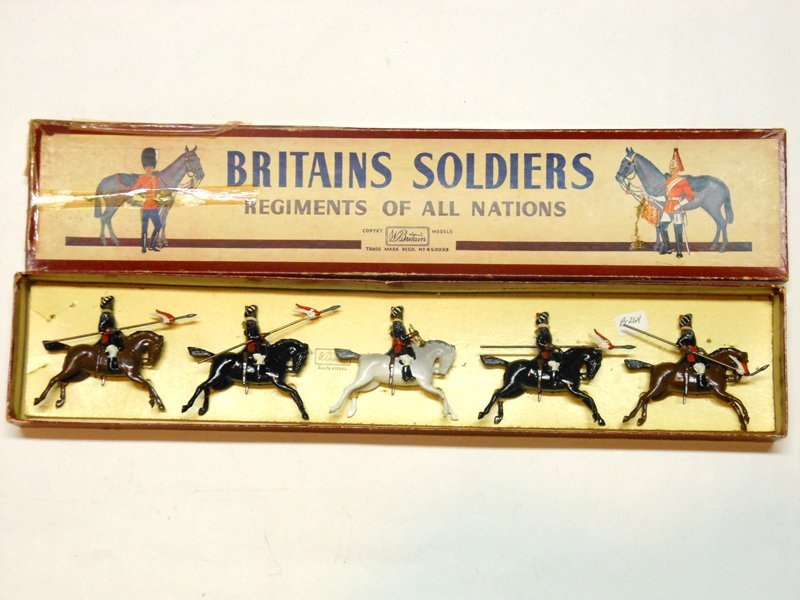 Britains Set # 66 Duke of Cornwall's Indian Army