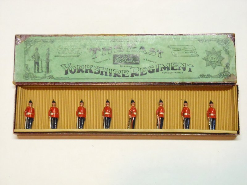Britains Set # 113 East Yorkshire Regiment