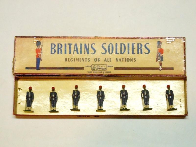 Britains Set # 117 Egyptian Infantry