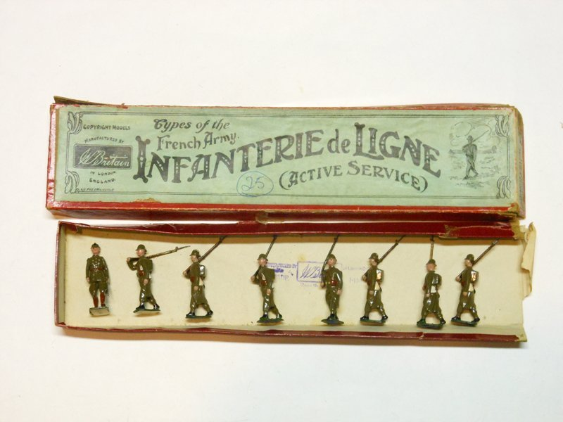 Britains Set # 141 French Infantry of the Line