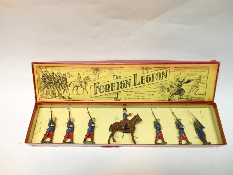 Britains Set # 1711 French Foreign Legion Marching