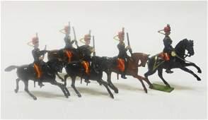 Britains Set  12 Eleventh Hussars Pre War