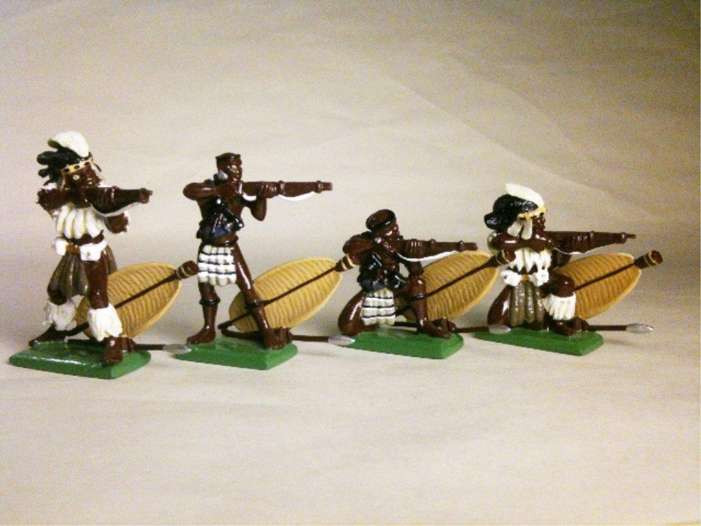 Britains Set # 146 Zulu's Firing