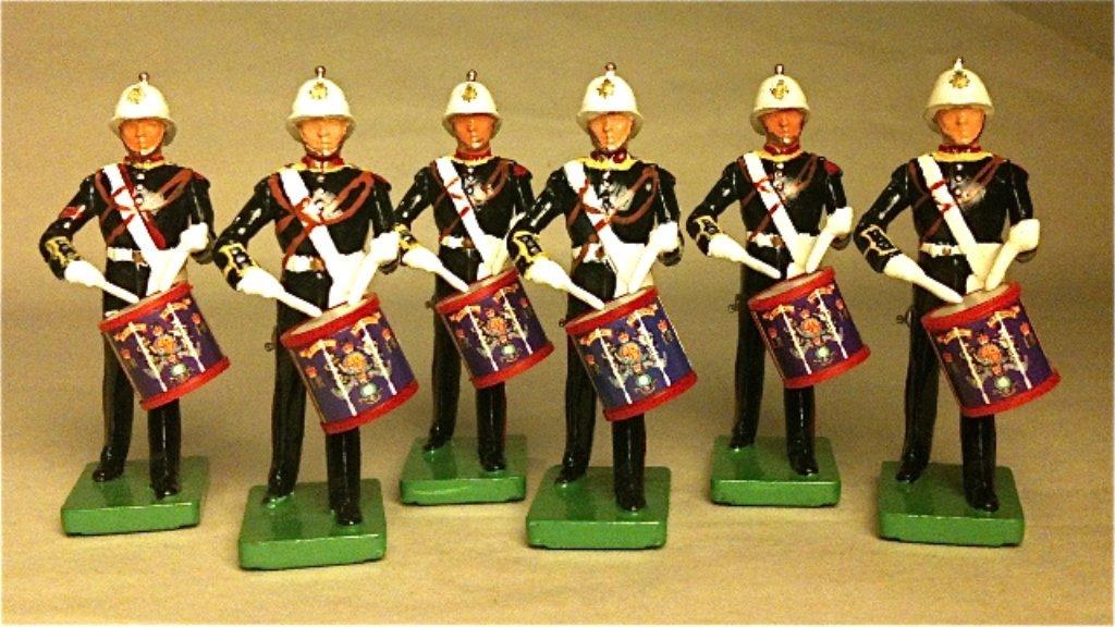 Britains Set # 3108 The Royal Marines