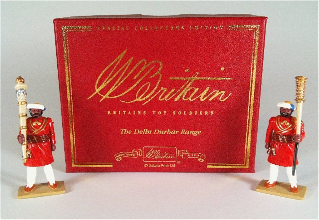 Britains Set # 132 Mace Bearers with original box