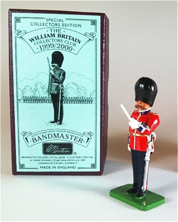Britains Set # 328 Scots Guard Bandmaster
