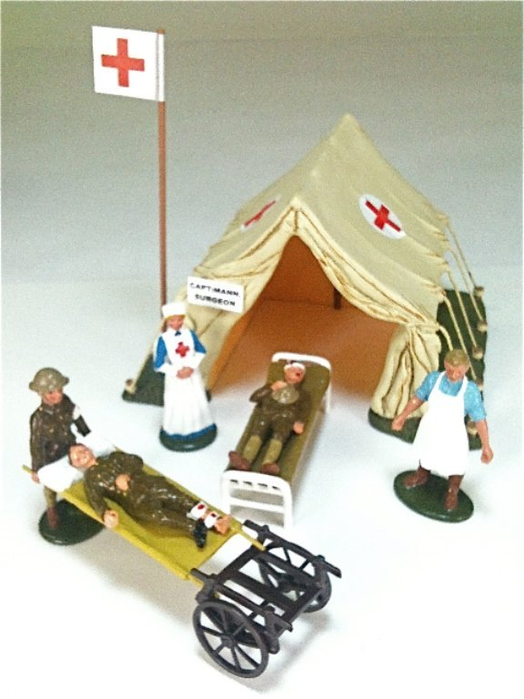 Britains Set # 41115 Regimental First Aid Post
