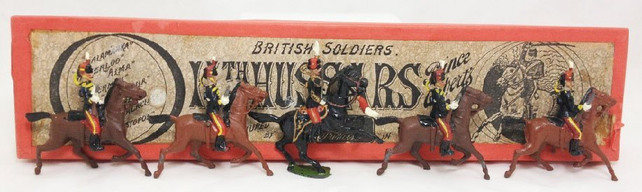 Britains Set #12 The 11th Hussars
