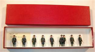 Britains Rare Set  607 Girl Guides Walking