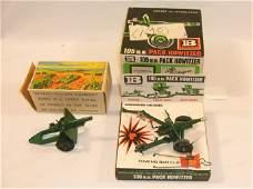 Britains Lot Set  9724 105 mm Pack Howitzer