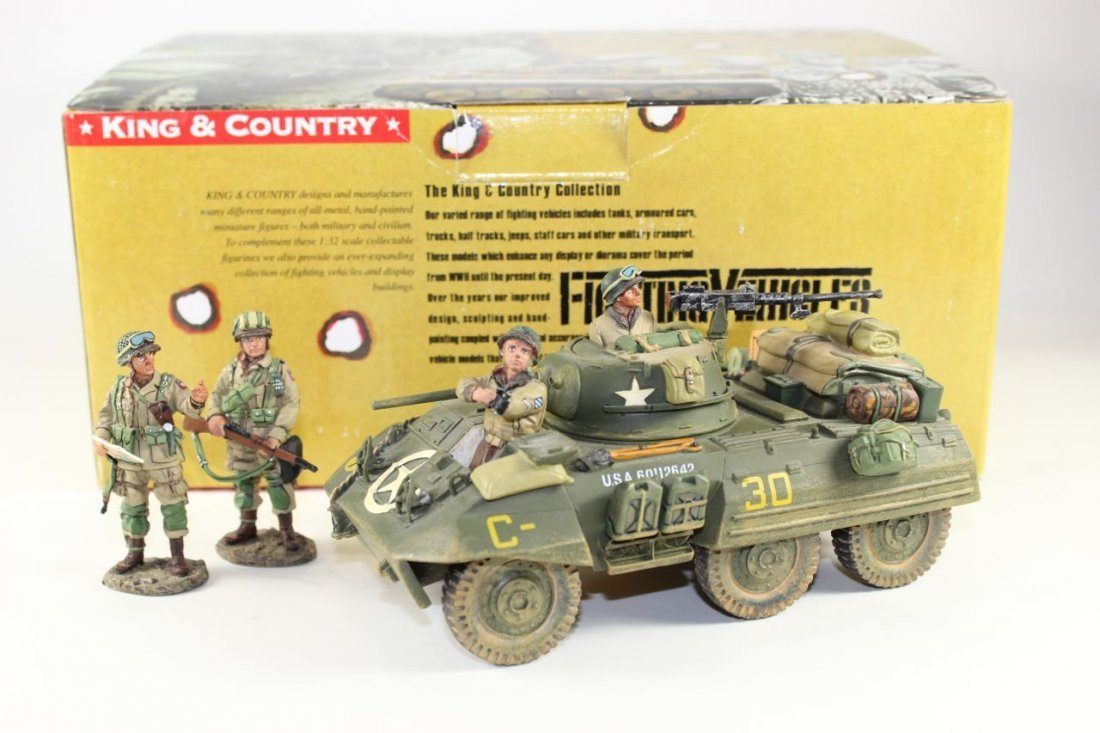 King and Country WWII DD38