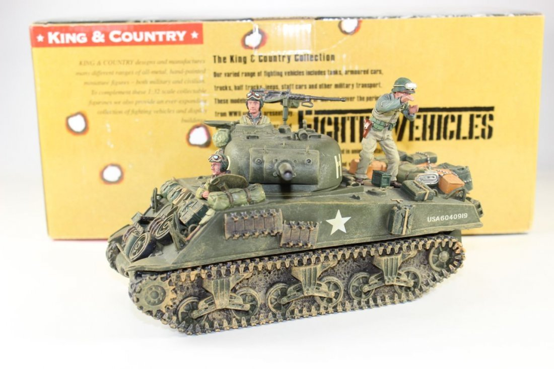 King and Country WWII DD45