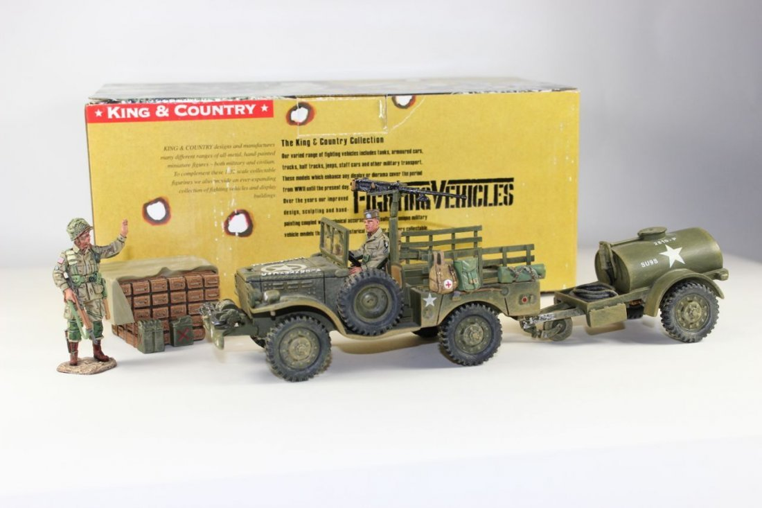 King and Country WWII DD49