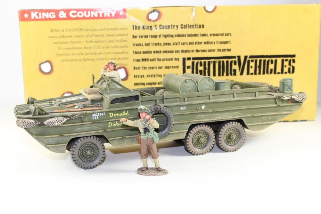 King and Country WWII DD63