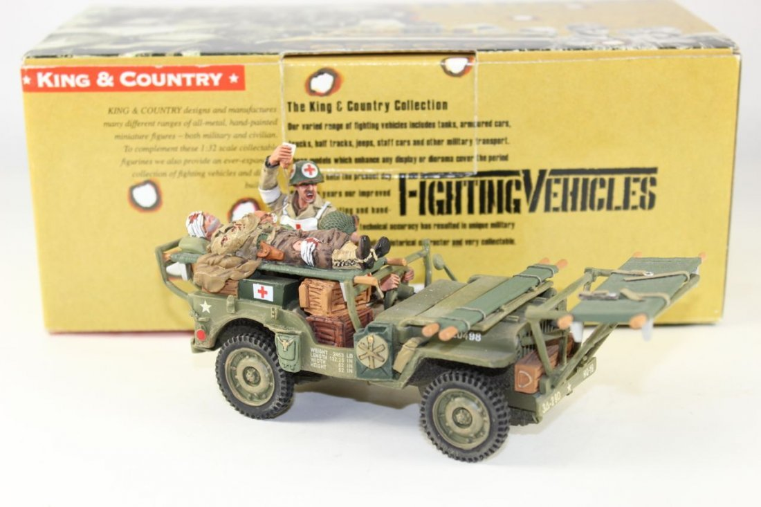 King and Country WWII DD68