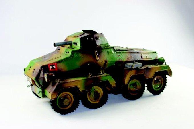 Hausser Elastolin Panzer Wagon