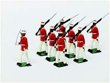 Nostalgia Set N21 Jamaica Militia Volunteers