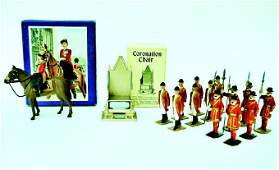 Britains and Timpo Coronation Items