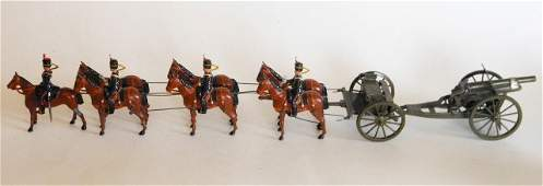 Britains Set #316 Royal Artillery Gun Team