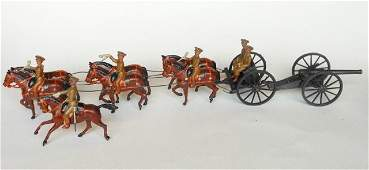 Britains Set 1440 Royal Artillery Gun Team