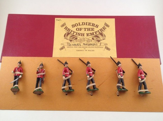 Trophy of Wales So. Wales Borderers