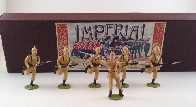 Imperial 3rd  Victorian Infantry 1899 Set #9