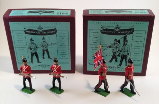 Britains Sherwood Foresters Set  #8815 & 8818
