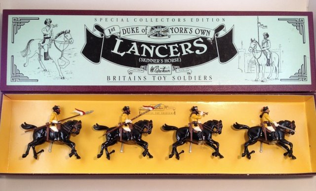 Britains Lancers Skinners #8834