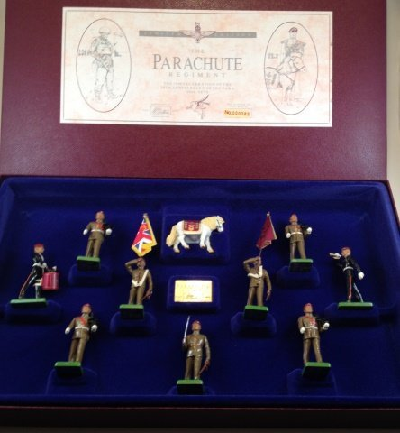 Britains Parachute Regt. Set #5190