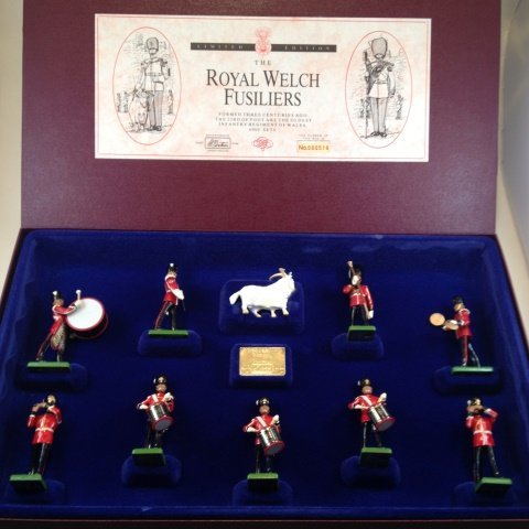 Britains Royal Welch Fusiliers Set #5191