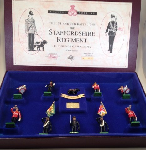 Britains Staffordshire Regt. Set #5194