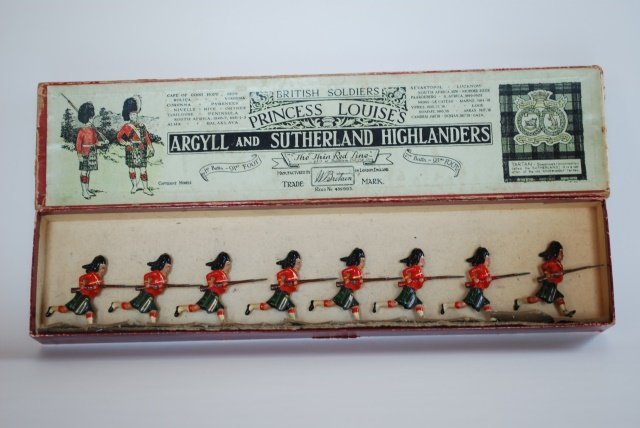 Britains Set #15 Argyle Sutherland Highlanders