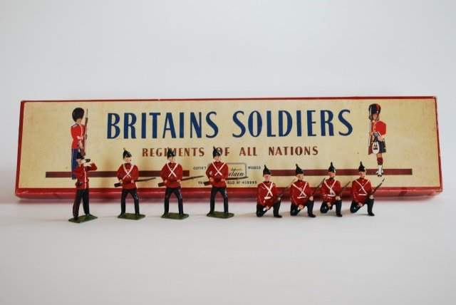 Britains Set #17 Somerset Light Infantry