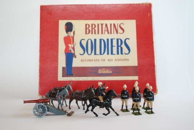 Britains Set #28 Mountain Artillery